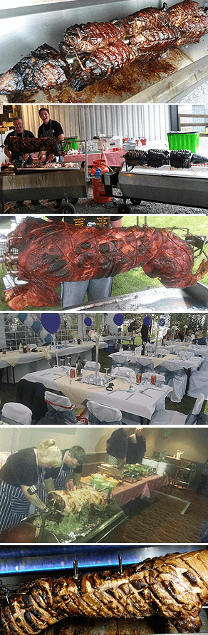 hogroast catetering weddings